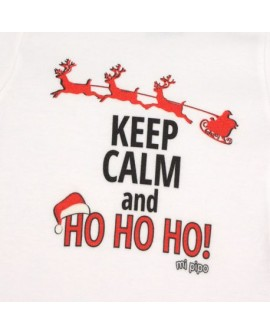 Body Navideño Keep Calm and Ho, Ho, Ho!